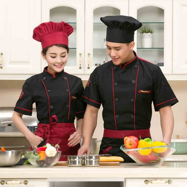 BBC Stars in Chef Jackets and Cooking Aprons